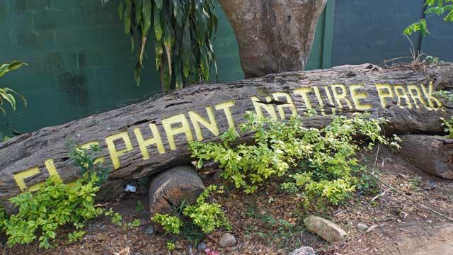 Elephant Nature Park sign