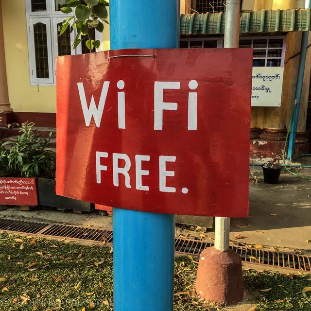 Wifi Free sign