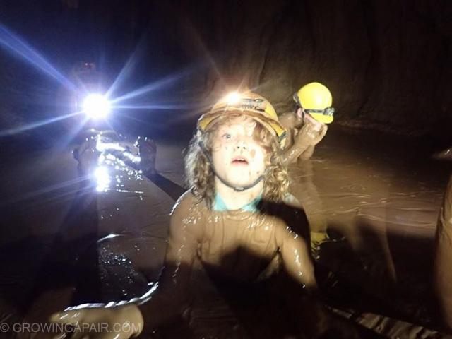 Dark cave fun