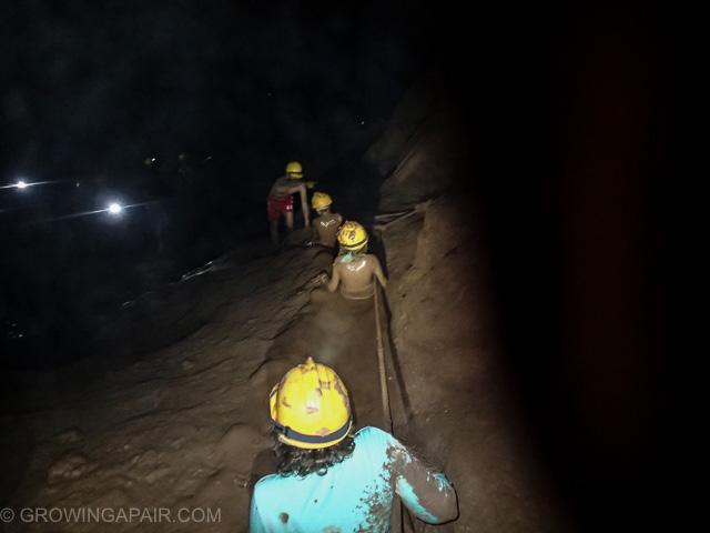 mudslide Dark Cave Vietnam