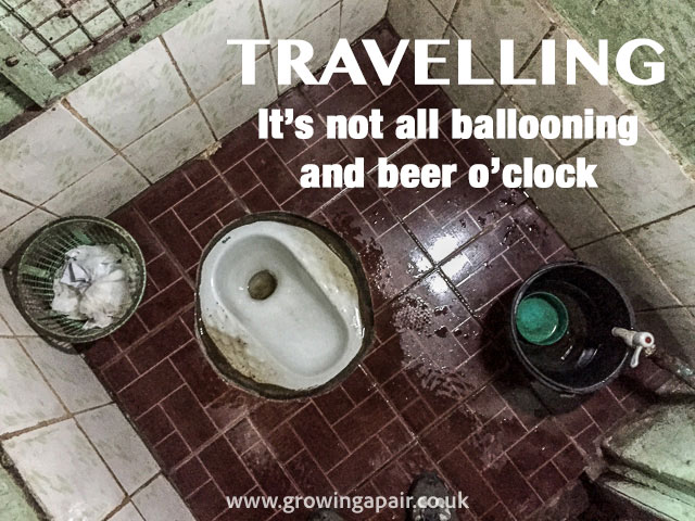 Asian toilets are one of the worst things about travelling