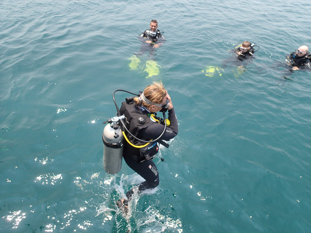 Diving at Cham Island
