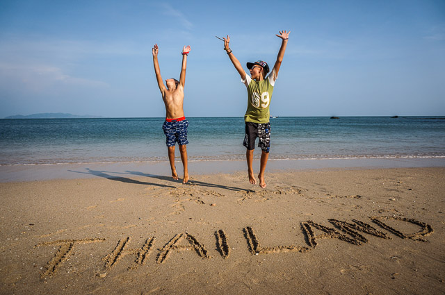 Kids love Thailand. One of the best family travel destinations with kids.