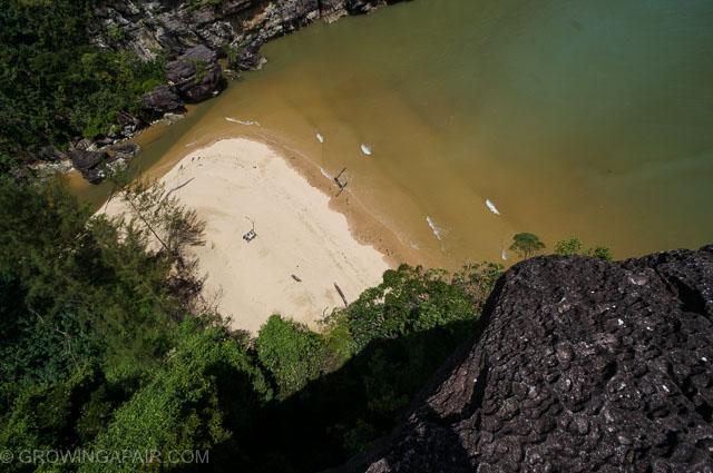 Awesome beach, Bako National Park, Borneo