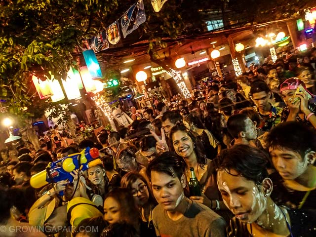 Songkran party in Bangkok