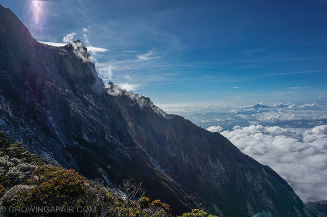 Mount Kinabalu trek view. Was it worth it?