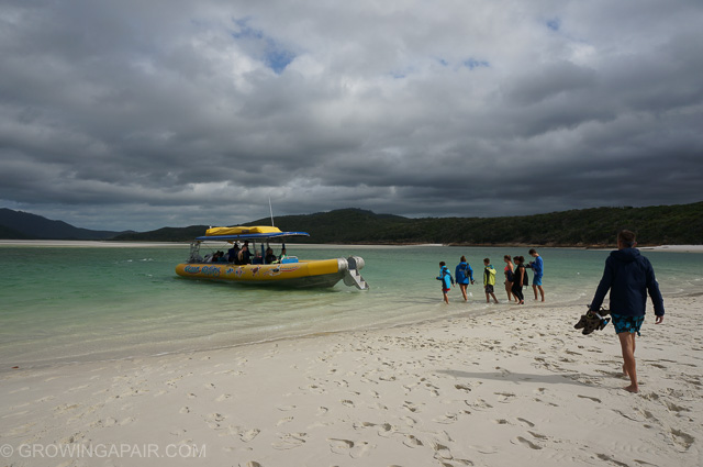 Whitsundays boat