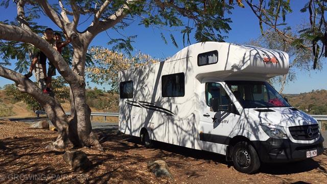 Motorhome in Australia