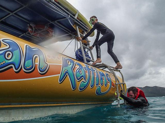 Ocean Rafting RIB