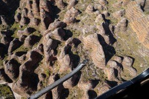 helicopter flight over Bungles