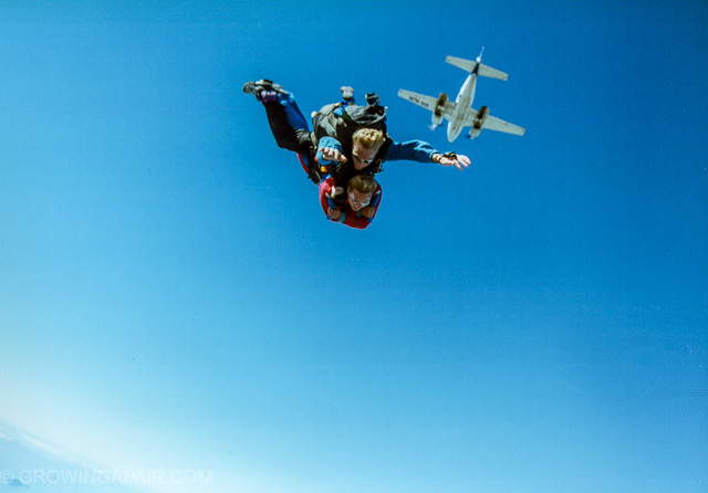 Skydive over Cairns