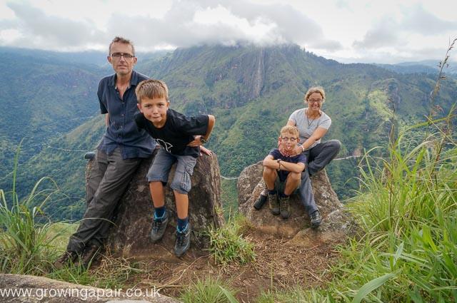 Family fun in Sri Lanka