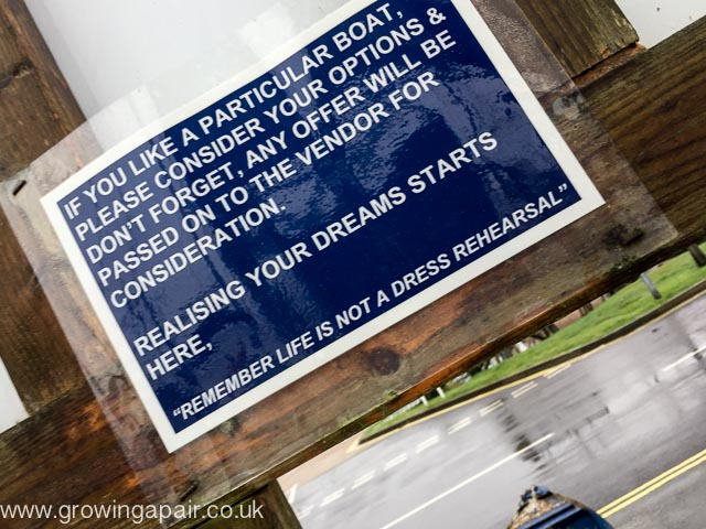 Boat buyers sign