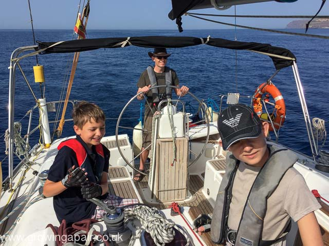 Family Sailing Adventure in the Canary Islands