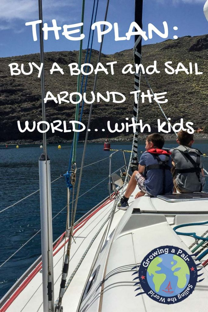 Buying a boat and sailing around the world