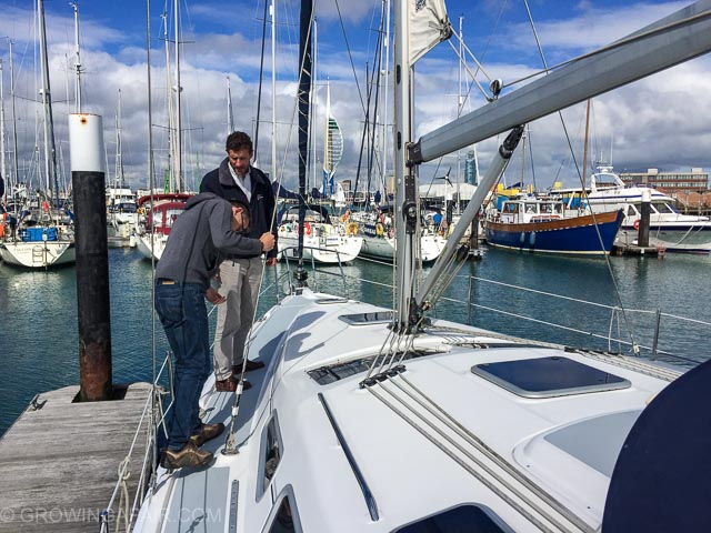 yacht brokers can be invaluable when buying a used boat