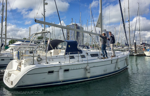 Ask lots of questions when buying a sailing boat