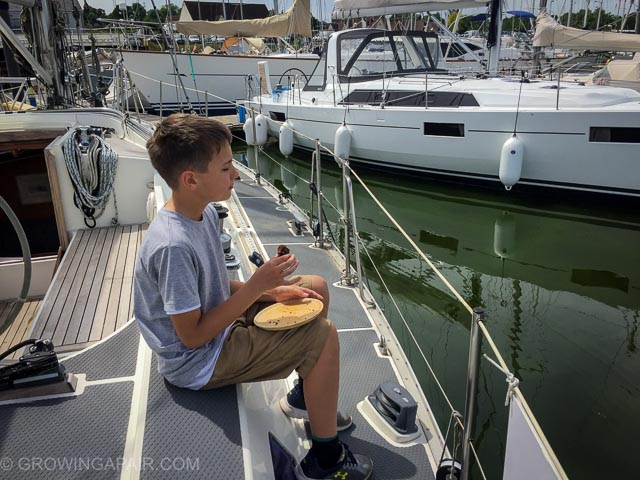 Is the deck suitable for cake-eating? Important questions to avoid buying the wrong boat.