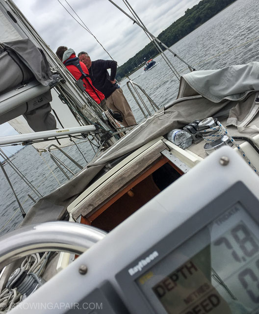 New boat owners learning stuff