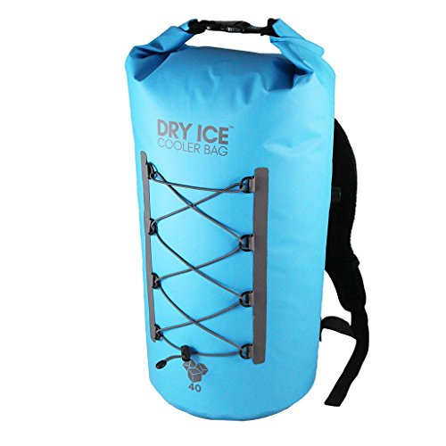 Dry Ice cooler bag - must have boat gadget for beer