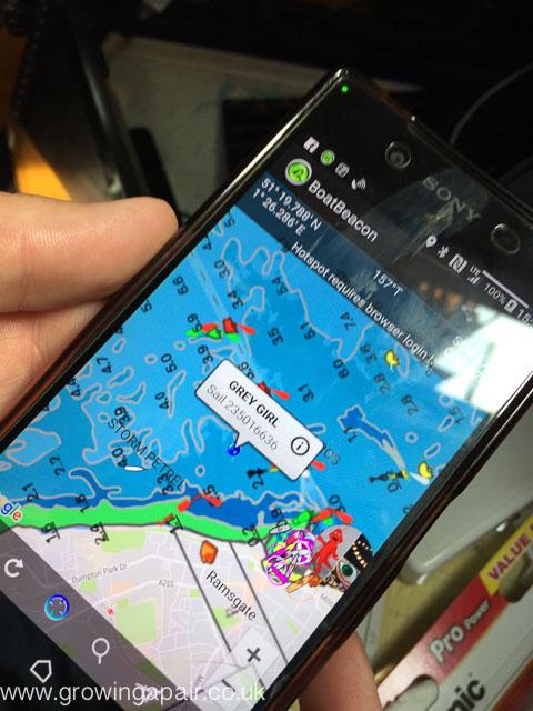 Boat Beacon AIS app