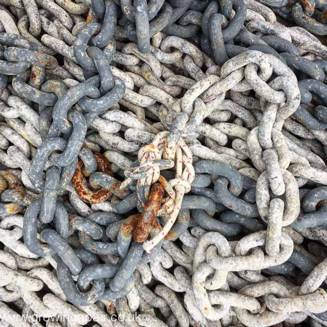 How not to fix a broken anchor chain