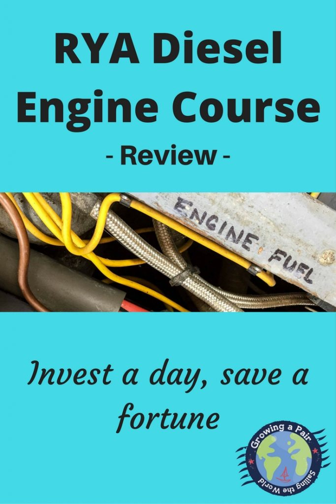 RYA Diesel Engine Course review for boat maintenance and diesel engine maintenance on boats