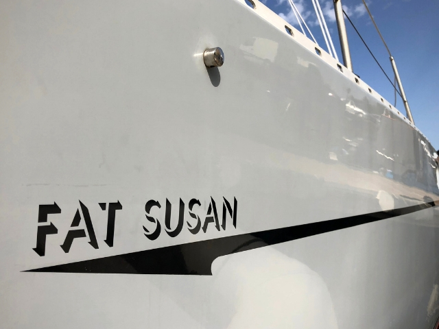 New boat name - renaming a boat