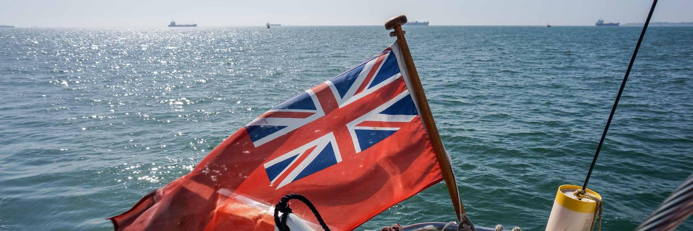 The British ensign