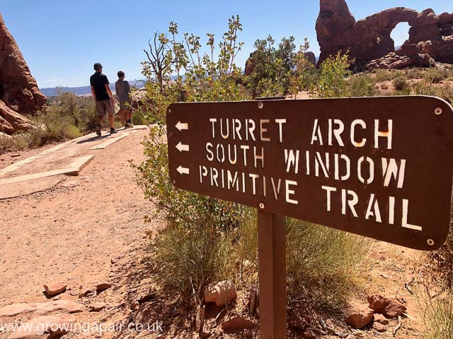 Arches signs