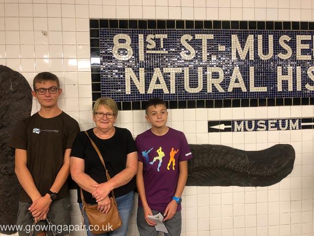NY Subway 81st