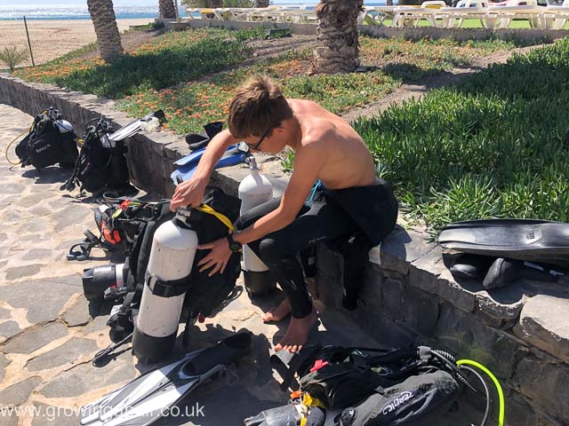 Diving in Cape Varde