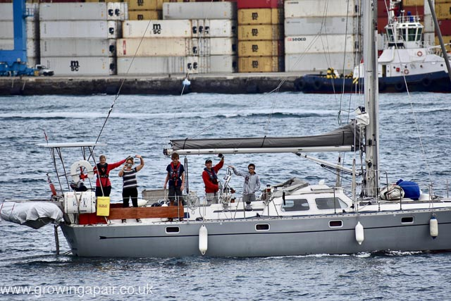 Fat Susan leaving Canary Islands