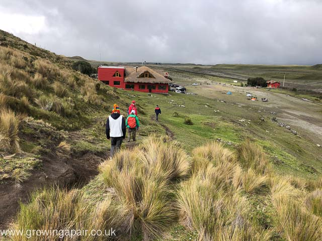 Tambopaxi Lodge on Cotopaxi NP