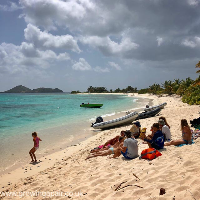 Sandy Isalnd in Carriacou Grenada