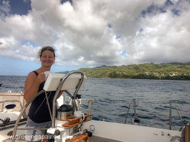 Floss helm in Grenada