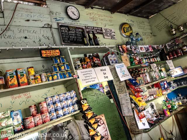 A local store in Grenada