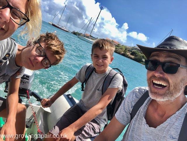 Fat Susan crew in Grenada