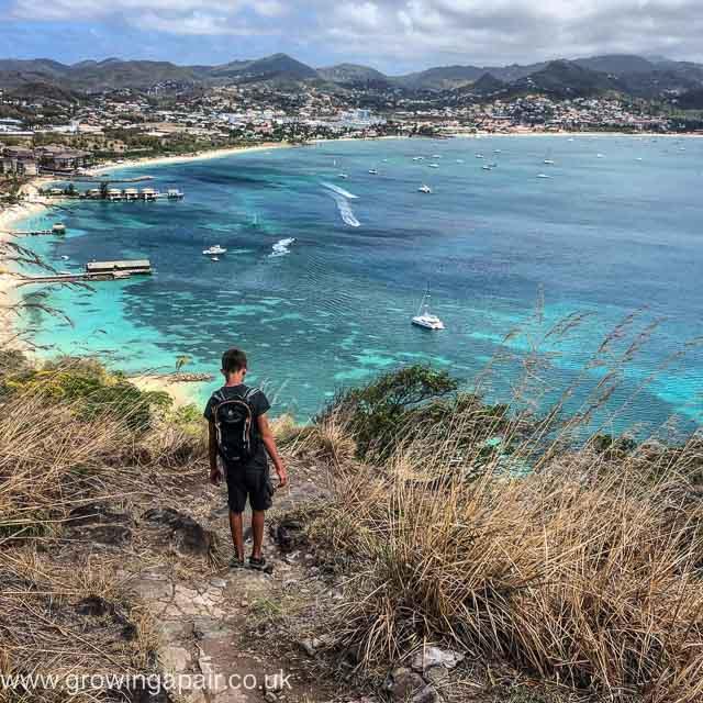 Rodney Bay view