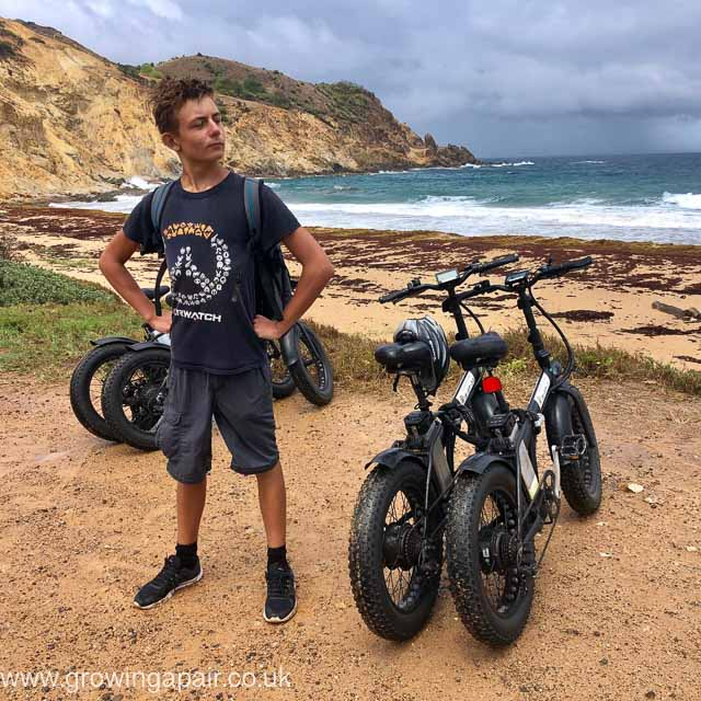 Electric bikes in Guadeloupe