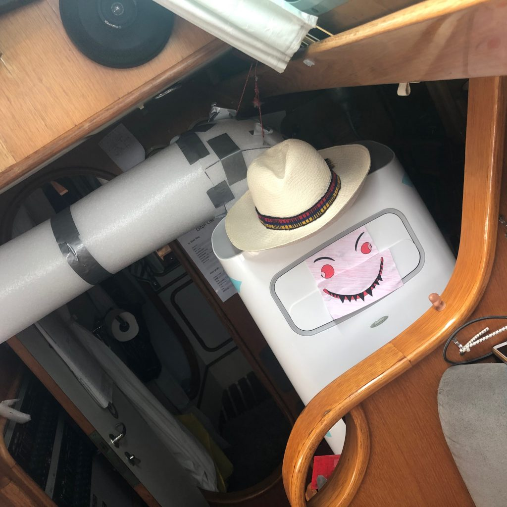 Air conditioning in the boat