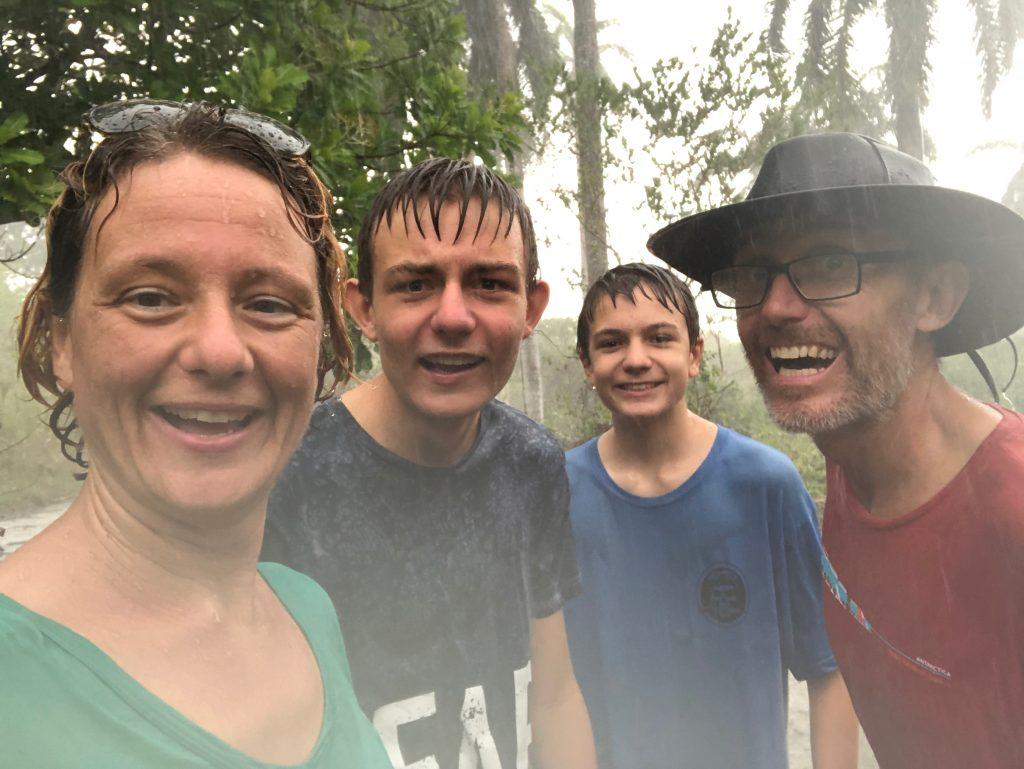 Lots of rain in Panama