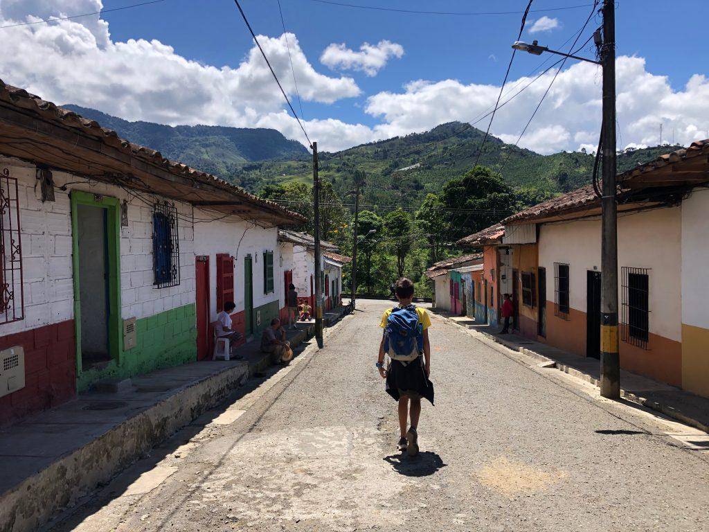 A street in Jardin Colonbia