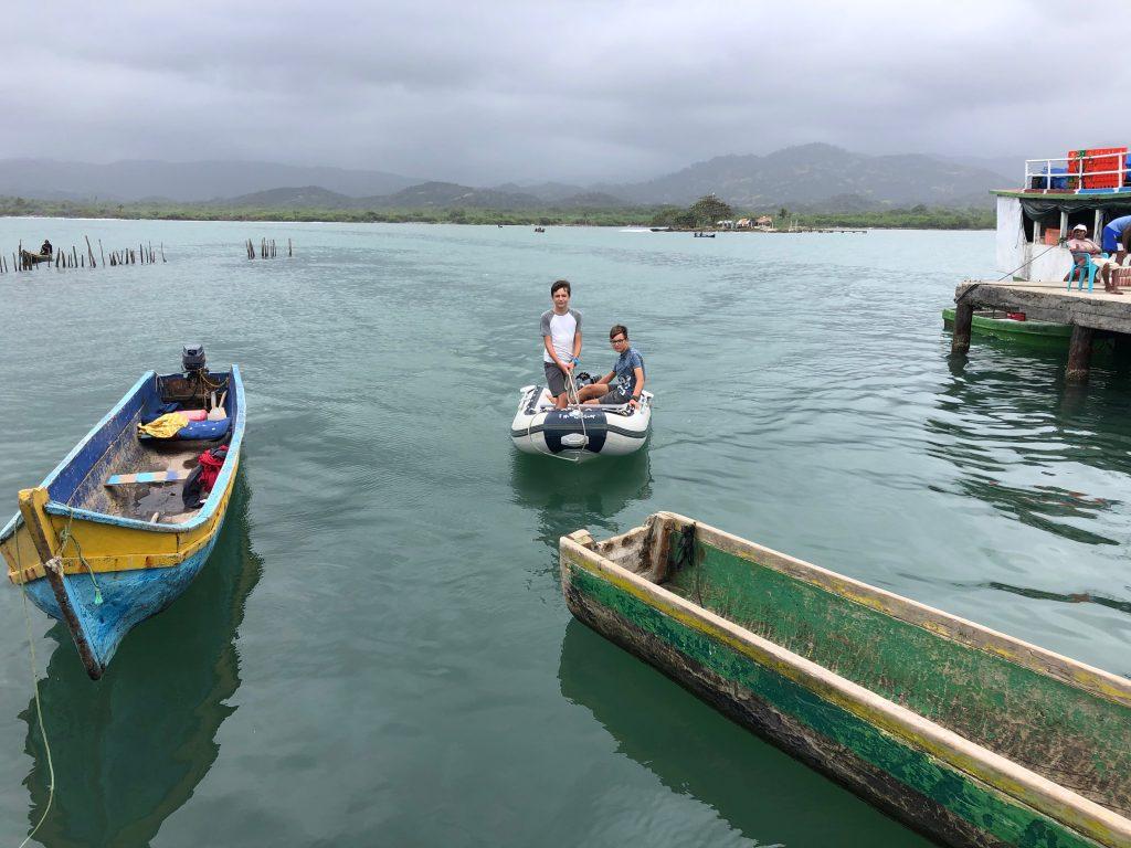 Canoes in Ustupo Guna Yala