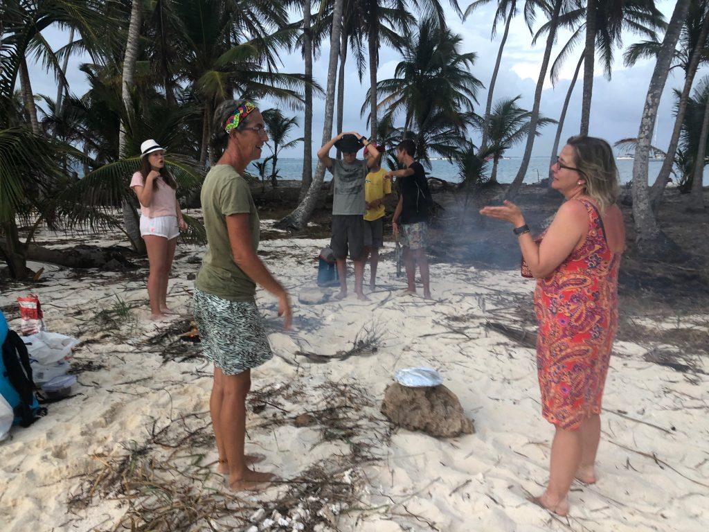 BBQs on deserted islands